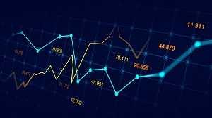 אילוסטרציה של גרפים ומחירים