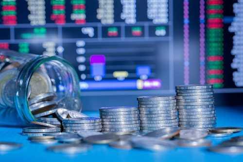 תמונה המדמה השקעה במניות לטווח קצר ויצירת רווחים